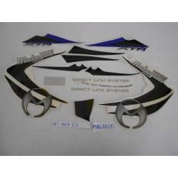 Adesivi Malaguti Crw 50 Blu 03- 05