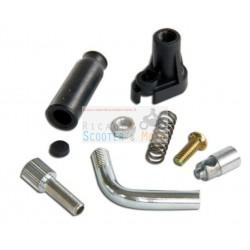Kit coperchio starter aria manuale a filo per carburatori Dell'Orto PHBN