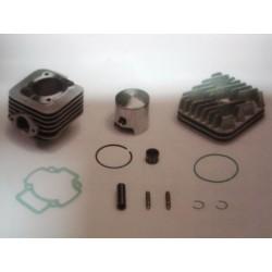 Gruppo Termico Cilindro in alluminio Motore Piaggio aria D.47,6